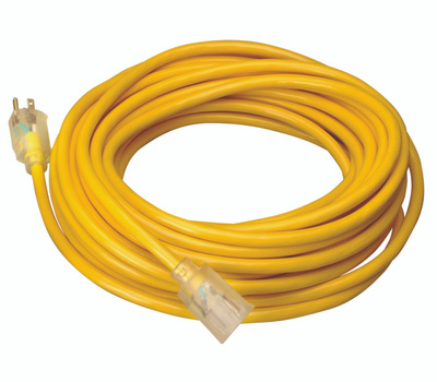 Southwire 025878802 25 Foot Cord Outdoor Sjtw-A Lighted End
