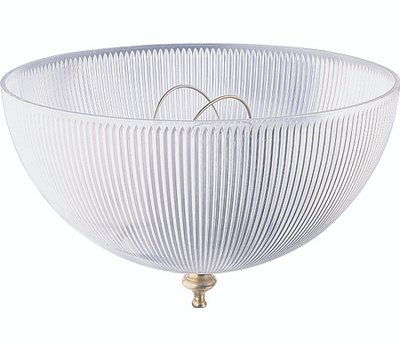 Westinghouse 81493 8 Inch Plastic Dome And Clip On Shade