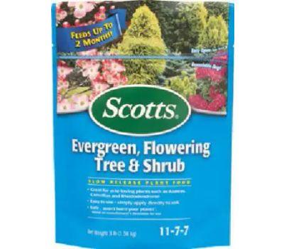 Scotts 1009101 3 Pound Evergreen Tree Food