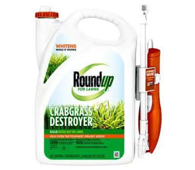 Roundup 4386004 Crabgrass Destroyer, Liquid, Spray Application, 1 Gal Bottle