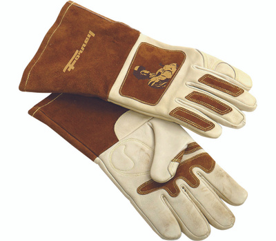 Forney 53410 Glove Welding Mens Leather Lrg