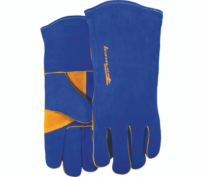 Forney 53422 Gloves Welding Hd Blue Mens Lr