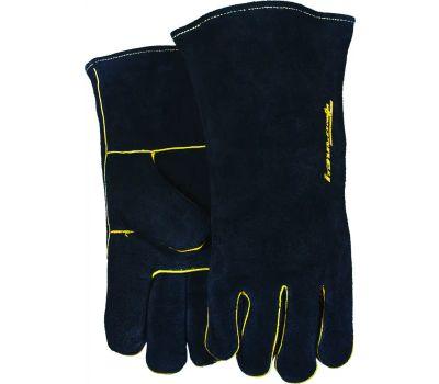 Forney 53425 Glove Welding Blk Mens Large