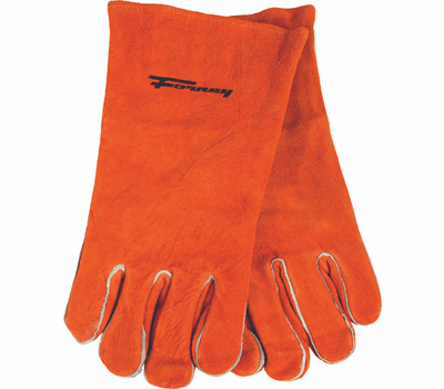 Forney 53432 Glove Welding Brown Men Xlrg