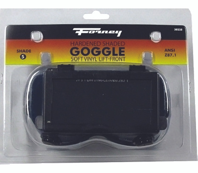 Forney 55320 2 By 4 1/4 Lift Frt Goggle