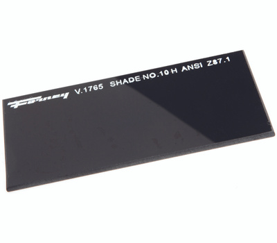 Forney 57010 2 By 4 1/4 #10 Shade Lens