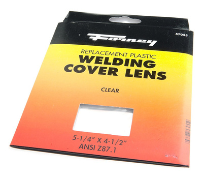 Forney 57055 4 1/2 By 5 1/4 Plastic Lens