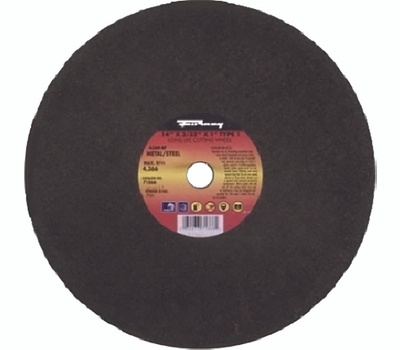 Forney 71866 14 By 3/32 Inch Aluminum Oxide Metal Cutting Wheel