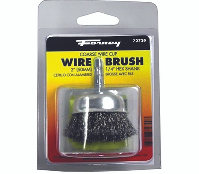 Forney 72729 Brush Cup Crimpd Wire 2x.012in