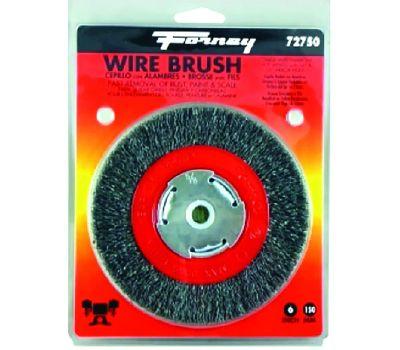 Forney 72750 Brush Wire Wheel Nrw 6x.012in