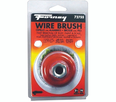 Forney 72755 Brush Cup Wire Knot 2-3/4in