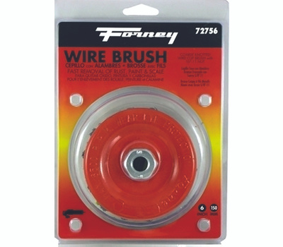Forney 72756 Brush Cup Wire Knot 6x.012in
