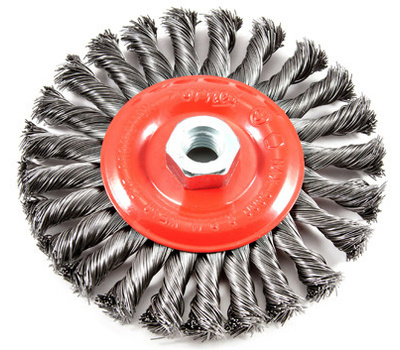 Forney 72758 Brush Wire Wheel Knot 6x.012in