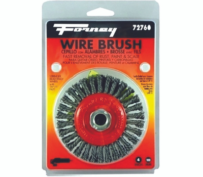 Forney 72760 Brush Wire Whl Stringer 4x.012