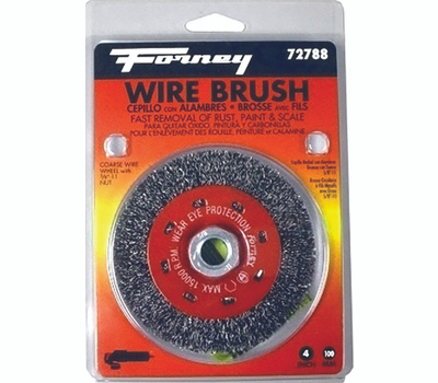 Forney 72788 Brush Wire Wheel Crs 4x.012in