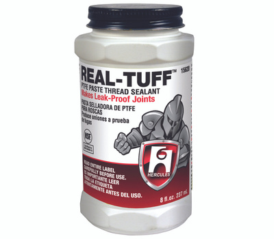 Oatey 15620 Hercules Real Tuff Thread Sealant, 8 Ounce Can, Paste, White