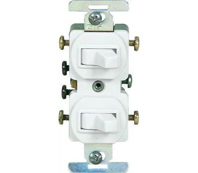 Eaton Wiring Devices 276W-BOX 3 Way Duplex Switches White
