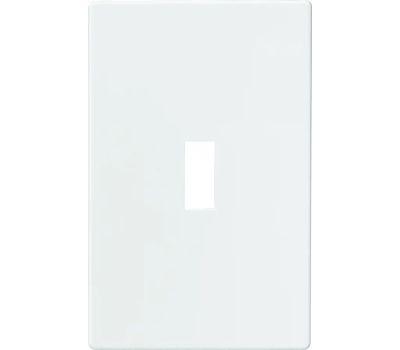 Eaton Wiring Devices PJS1W Screwless Wallplate Switch 1 Gang White