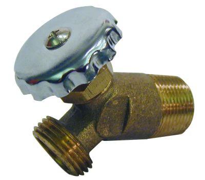 B&K Mueller 102-816 3/4 Brass Water Heater Drain Valve
