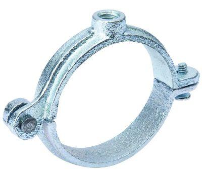 B&K Mueller G72-150HC Split Ring Hanger, 1-1/2 in Opening, Galvanized Iron