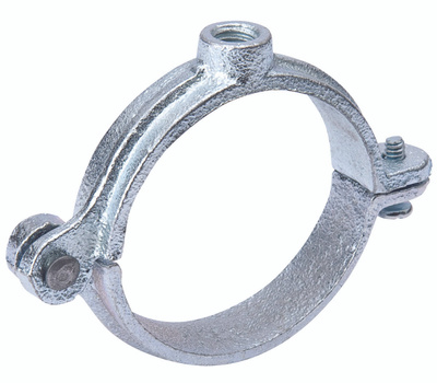 B&K Mueller G72-200HC Split Ring Hanger, 2 in Opening, Galvanized Iron