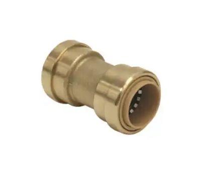 B&K Mueller 6630-003 630-003hc/Lf811r Push Coupler, 1/2 in, Brass, 200 Psi Pressure