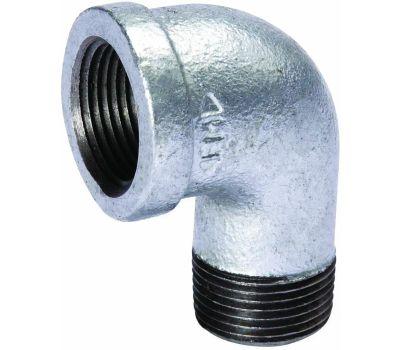 B&K Mueller 510-310BC Street Pipe Elbow, 3 in, Threaded, 90 Deg Angle, 300 Psi Pressure