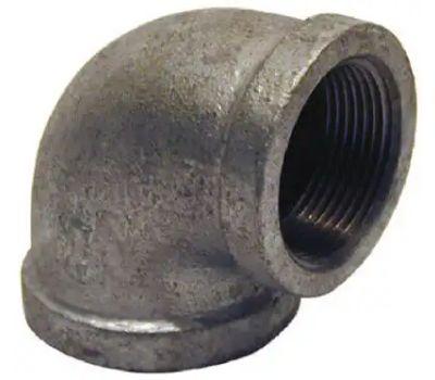 B&K Mueller 510-187HC 2 By 1-1/2 Inch Galvanized Reducing Elbow