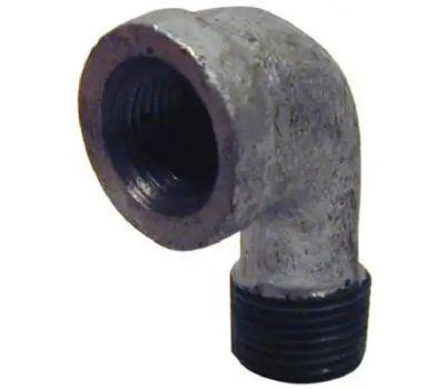 B&K Mueller 510-307HN 1-1/2 Inch Galvanized Street Elbow