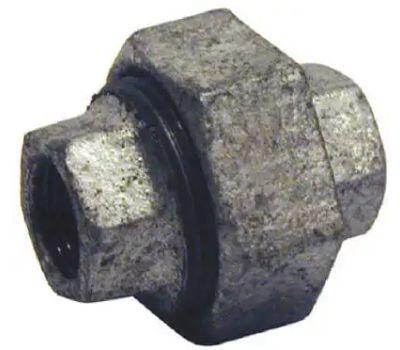 B&K Mueller 511-703HN 1/2 Inch Galvanized Iron Union