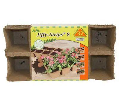 Ferry Morse JS32 Jiffy Peat Pot Strips 2 Inch Square