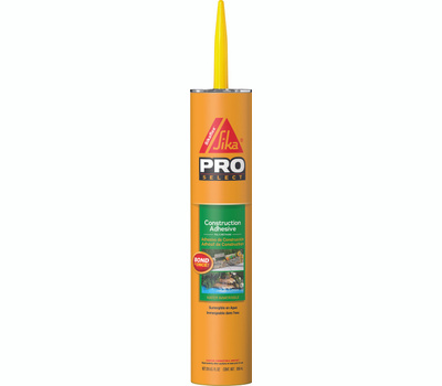Sika 505423 Construction Adhesive, Gray, 29 Ounce Cartridge