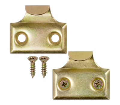 National Hardware S819-021 N115-691 S751-450 Stanley Window Sash Hook Lifts 1-3/8 Inch Brass Finish 2 Pack |