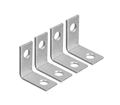 National Hardware S756-104 N113-050 N113-068 N227-389 Stanley Corner Braces 1 By 1/2 By 0.07 Inch Zinc Plated Steel 4 Pack