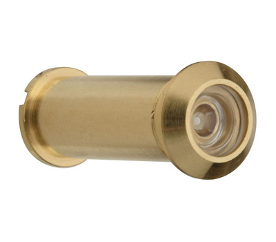 National Hardware S610-470 N158-907 Stanley Door Viewer 120 Degree Polished Solid Brass
