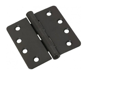 National Hardware S820-787 Stanley Commercial Door Hinges 4 Inch 1/4 Radius Oil Rubbed Bronze 3 Pack