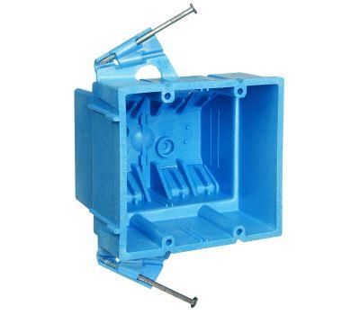 Carlon BH235A Super Blue Two Gang Box