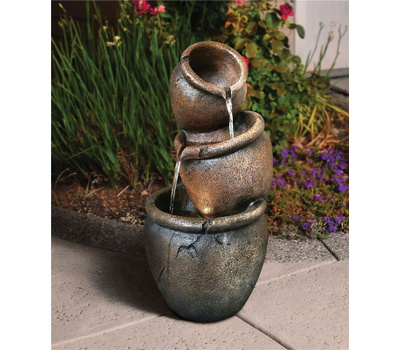 Seasonal Trends Y95770 Fountian Garden Pot Alston
