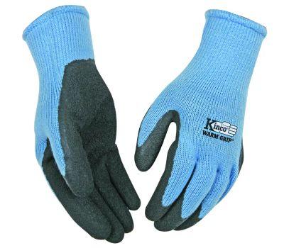 Kinco 1790W-M Latex Coated Acrylic Knit Thermal Gloves Womens Medium