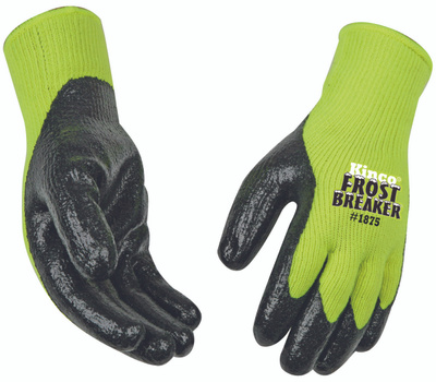 Kinco 1875-L Yellow High Dexterity Thermal Protective Gloves Large