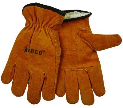 Kinco 51PL-M Split Cowhide Thermal Lined Gloves Medium