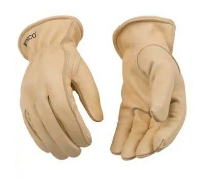 Kinco 98-XL Gloves Driver Unlnd Cowhide Xl
