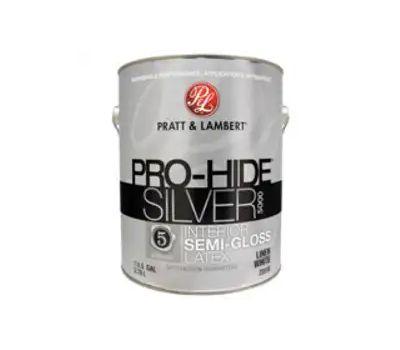 Pro-Hide 0000Z5516-16 Pro-Hide Silver 5000 Z5500 Interior Paint, Semi-Gloss, Linen White, 1 Gal