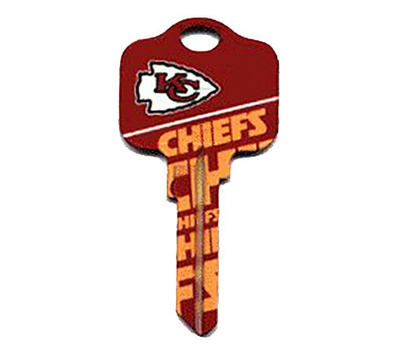 Kaba Ilco KCSC1-NFL-CHIEFS Sc1 Chiefs Team Key