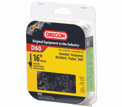Oregon Cutting D60 16 Inch Chain Saw Cutting Chains