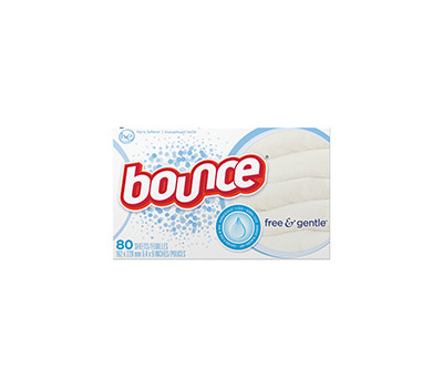 Procter & Gamble 82366 Free & Gentle Fabric Softener Dryer Sheet