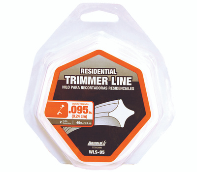Arnold WLS-95 Trimmer Line 40 Foot Loop Of.095 Inch