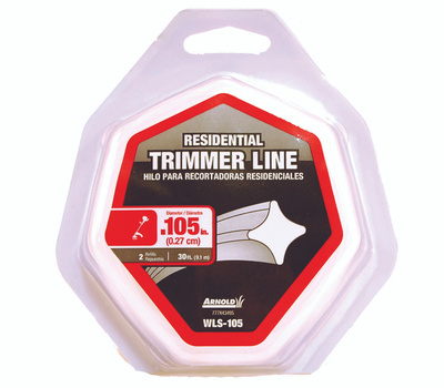 Arnold WLS-105 Trimmer Line 30 Foot Loop Of 0.105 Inch