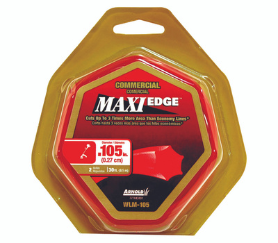 Arnold WLM-105 Maxiedge Trimmer Line 30 Foot Loop Of.105 Inch