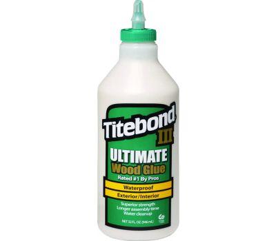 Franklin 1415 Titebond Wood Glue Waterproof 1 Quart Titebond Iii
